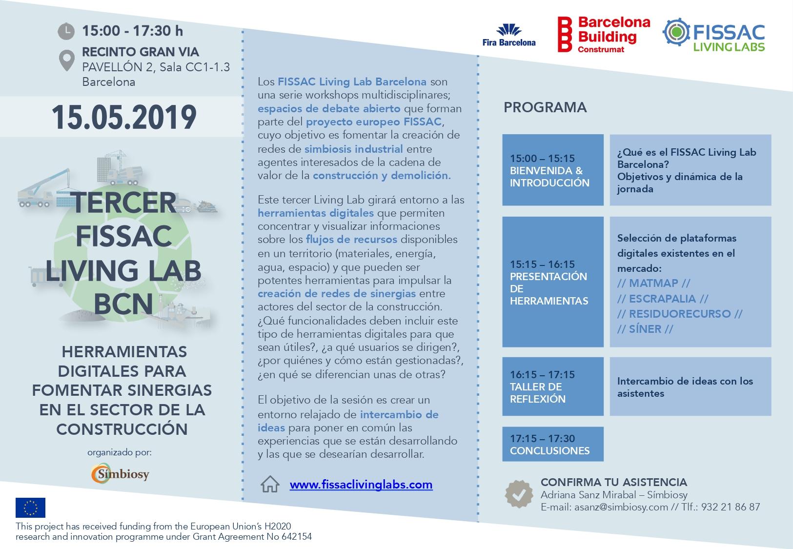 FISSAC Living Lab Barcelona III