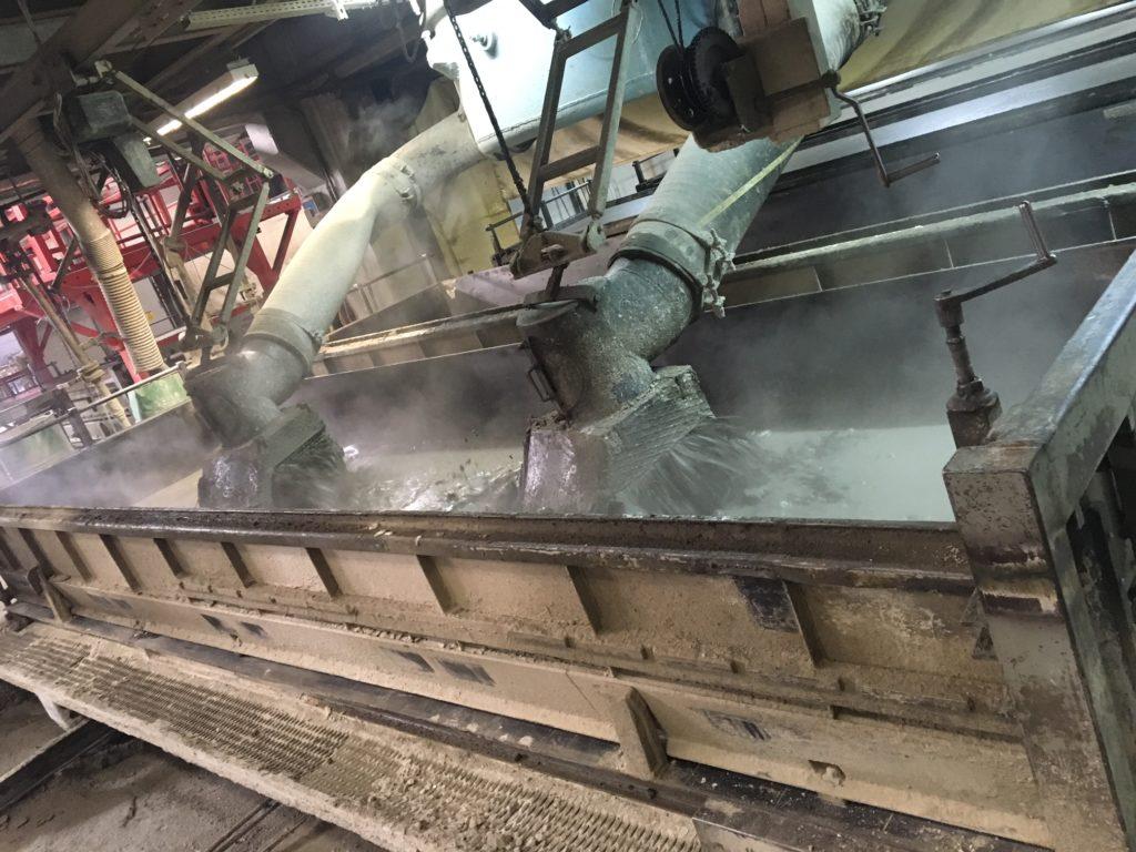 molding of AAC slurry